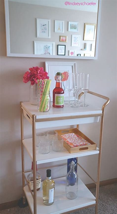 ikea bar hack ikea bar cart hack for under 40 such an easy diy bar