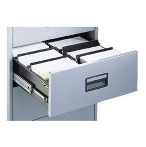 silverline media card index filing cabinets dividers