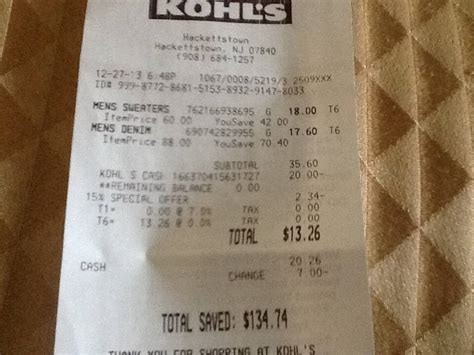 Can You Use Kohl S Cash For Gift Cards - kohl s scam hackettstown nj