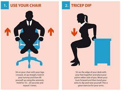 exercises you can do at your desk 20 best exercises you can do at your desk images on