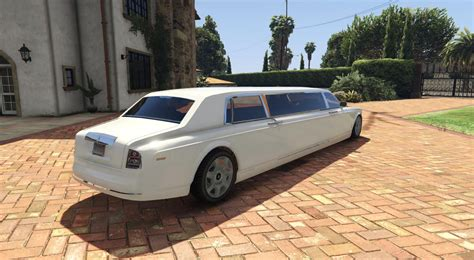 limousine rolls royce rolls royce phantom limo gta5 mods com