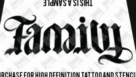 anagram tattoo designs anagram of family forever tattoos