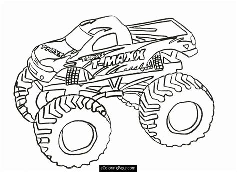 monster jam coloring pages for kids coloring home