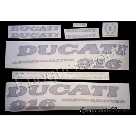 Ducati 916 Sticker by Autocollants Stickers Ducati 916 Epoqueauto69