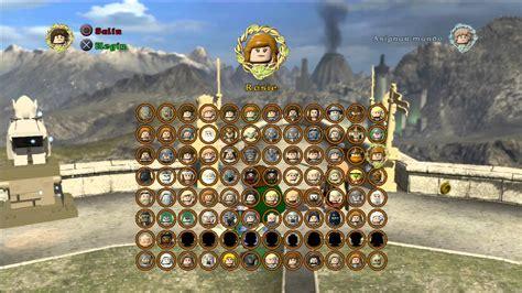 tutorial lego señor de los anillos lego se 209 or de los anillos todos los personajes y extras