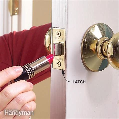 How To Fix In Wall From Door Knob by Fix A Door That Won T Family Handyman