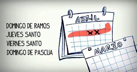 que dias no laboran los del imss en 2016 calendar semana santa 2014 m 233 xico fechas y vacaciones