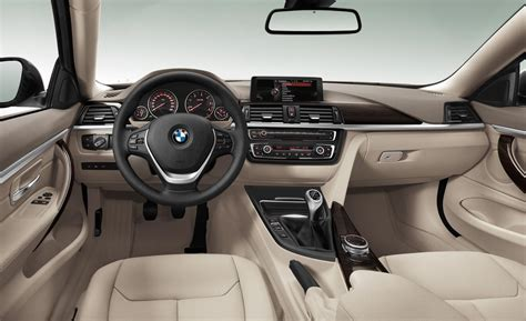 Bmw Series 4 Interior car and driver