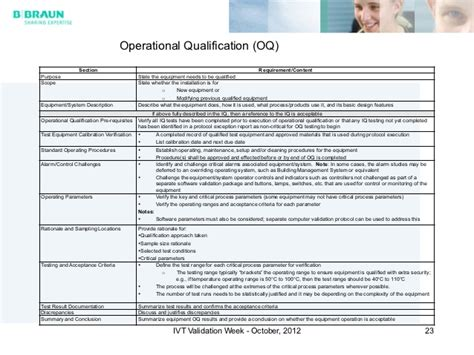 Equipment Qualification Equipment Validation Protocol Template