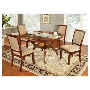 Dining Table Set At Target 5 Blaine Dining Table Set Wood Oak Furniture Of