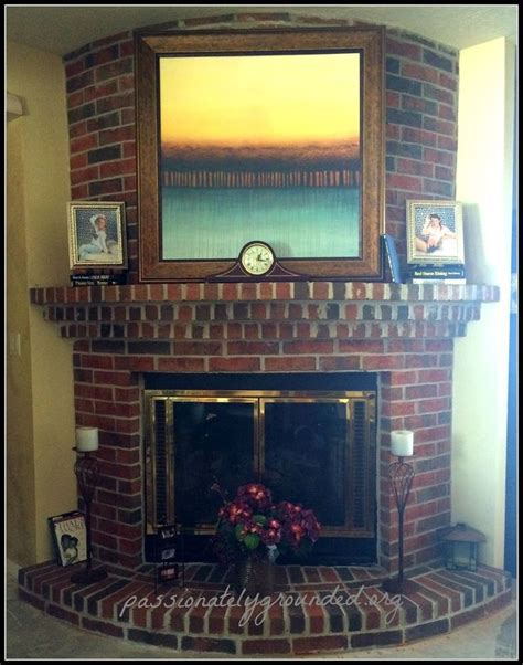 floor charcoal brick fireplace painted 12 best images about fireplace ideas on