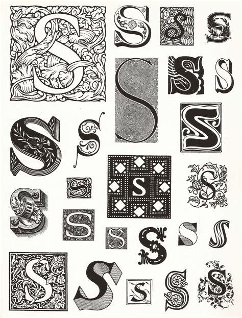 Letter Usage decorative alphabet letters s www pixshark images