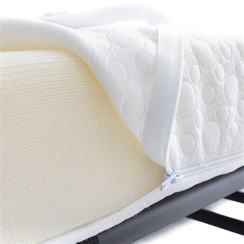 premium bedding premium folding bed with memory foam mattress 75 x 31 5 milliard bedding