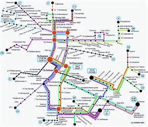 автобусы петербурга на карте
