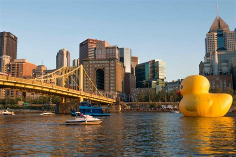 Rubber Duck Pittsburgh Location by The Rubber Ducky Comes To Pittsburgh