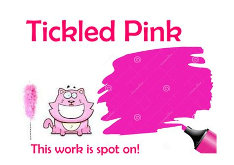 Book Review Tickled Pink By Jones by Marking Posters Mini Versions For Books By