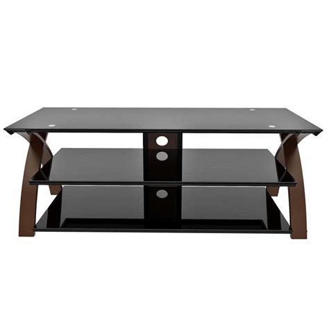 z line tv stands z line designs willow 58 inch tv stand espresso and black