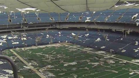 failed implosion kicks of demolition at pontiac silverdome