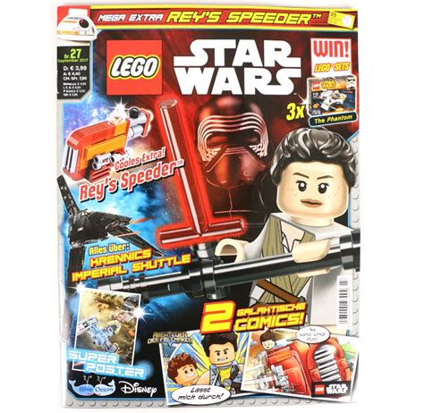 star wars n 27 lego star wars magazin ausgabe 28 mit first order snowspeeder zusammengebaut
