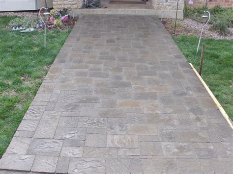 patio 55 patio pavers paver patio 1000 images about