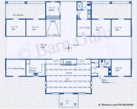 Large Horse Barn Floor Plans by 5 Stall Horse Barn Plan With A Large Lounge For Entertaining