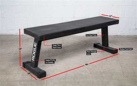 bench specs rogue flat utility bench 2 0 rogue fitness