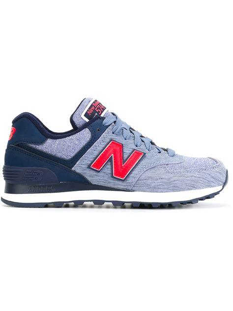 new balance sneakers 574 new balance 574 sneakers in blue lyst