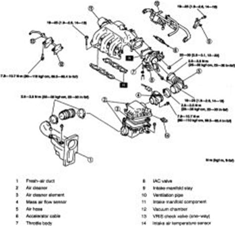 small engine maintenance and repair 1999 mazda millenia auto manual repair guides engine mechanical components intake manifold 2 autozone com