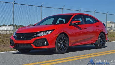 honda civic 2017 hatchback sport 2017 honda civic hatchback sport review test drive