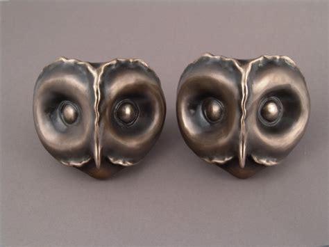 bronze owl door handles pulls