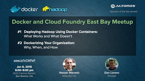 docker hadoop tutorial 1 06 meetup how to deploy hadoop using docker containers
