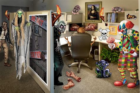 halloween decorating themes office halloween office decorating ideas partycheap