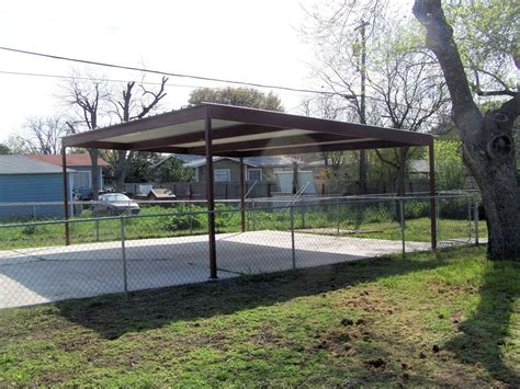 24x24 Carport 20 X 24 Stand Alone Carport Brown Carport Patio Covers
