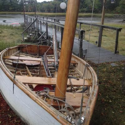 wood boat for sale craigslist wood sailboat mast for sale downeast boats for sale