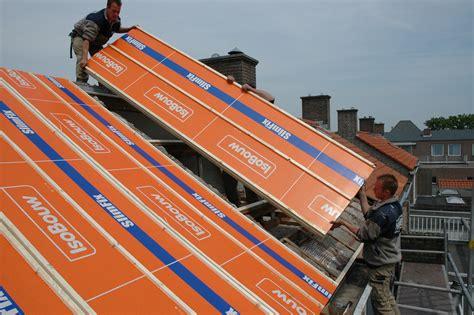 dakplaten plat dak geisoleerde dakplaten isobouw bouwmaterialen