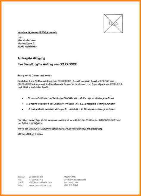 Angebot Nachfassen Musterbrief Englisch 8 auftragserteilung handwerker muster sponsorshipletterr