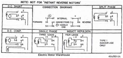 help wiring a single phase motor with reversing switch for