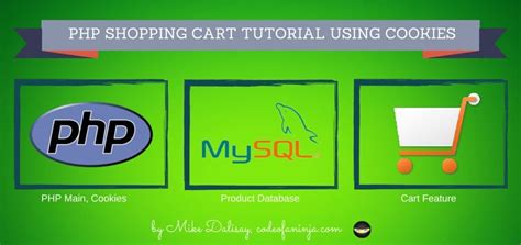 tutorial php cookies shopping cart system tutorial using cookies the code of
