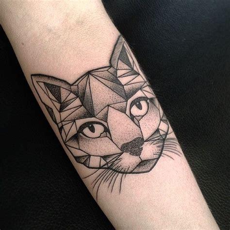 tattoo cat geometric instagram photo by astonreynolds via ink361 com tattoos
