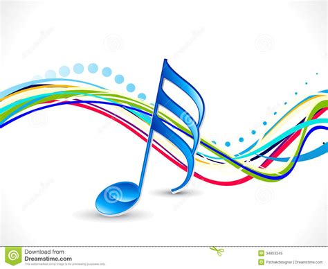design free stock photo illustration of a colorful abstract colorful musical background royalty free stock