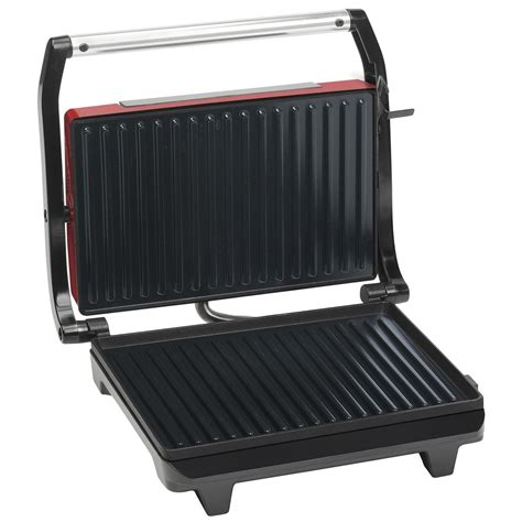 Grill Toasters Bestron Apg100r Panini Grill