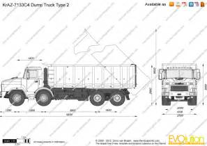 Standard Dump Truck Dimensions Search Pictures Photos sketch template