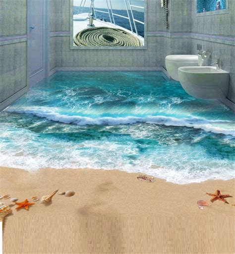 3d floor design 5 steps to install 3d flooring in your bathroom