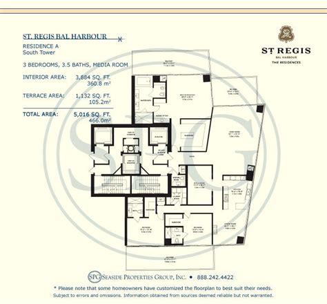st regis bal harbour floor plans st regis bal harbour floor plans luxury oceanfront