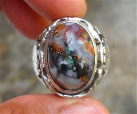 Cincin Batu Rubah Panca Warna batu akik panca warna termahal