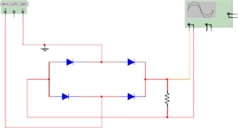 diode bridge in multisim rectifier circuit multisim 28 images half wave rectifier circuit simulation op why use two