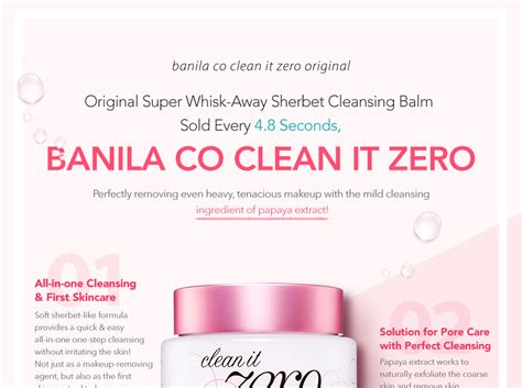 Clean It Zero Banila Co 100ml banila co clean it zero 100ml