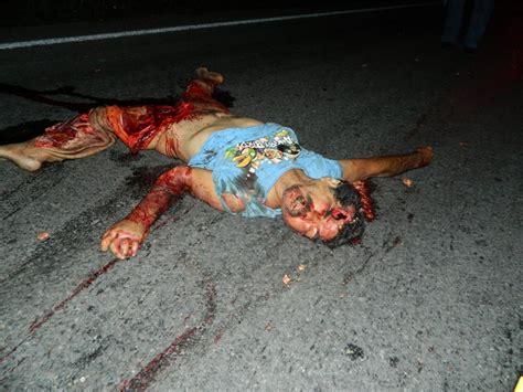 imágenes impactantes muerte de un ex policia horrible muerte en carretera noticias tlapacoyan