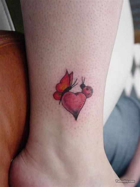 small heart shaped tattoos tiny ladybug small tats tattoos