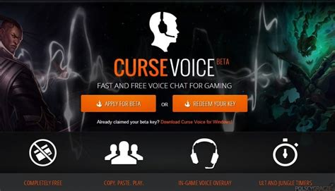 Curse Giveaways - giveaway curse voice klucz do zamkniętej bety